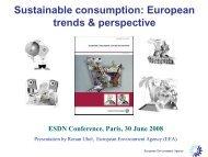 PDF (608 kB) - European Sustainable Development Network
