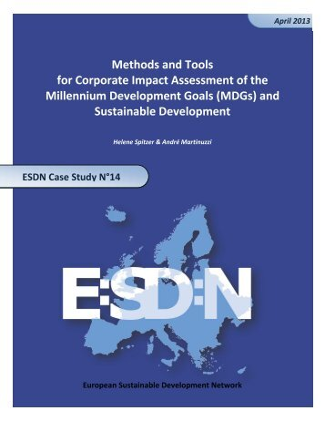 The Assessment of Methods and Tools for Impact Measurement of ...