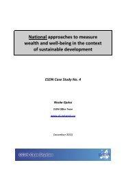 ESDN Case Study No. 4 - European Sustainable Development ...