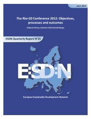 to download a PDF version - European Sustainable Development ...