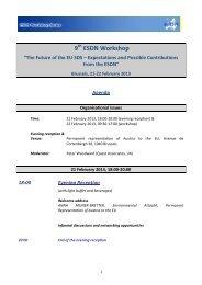Final agenda - European Sustainable Development Network