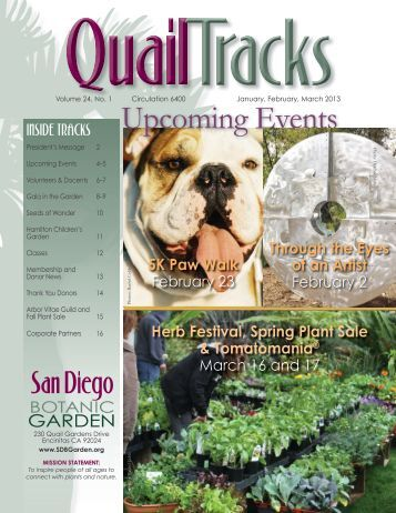 Volume 24, No. 1 January, February, March 2013 - San Diego ...