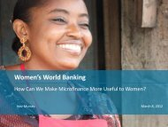 Women's World Banking - Sdc-employment-income.ch
