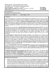 Project Outline Crédit additionnel 0 - SDC Water Network