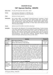 106th Aguasan Meeting – MINUTES - SDC Water Network