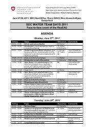 Water Team Days 2010: June 28 and 29 Agenda - SDC Water ...
