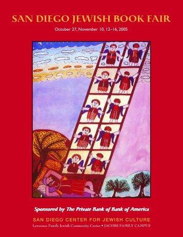 The 11th Annual San Diego Jewish Book Fair Brochure