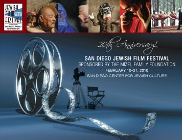 2010 Film Festival Brochure - San Diego Center For Jewish Culture