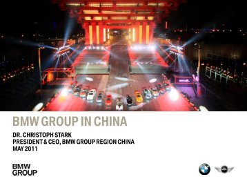 Dr. Christoph Stark – BMW Group in China - PDF