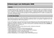 Erläuterungen zum Stellenplan 2008 - Gemeinde Nümbrecht