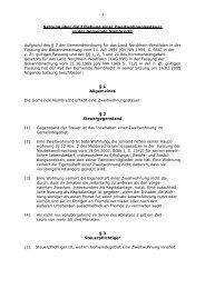 Satzung Zweitwohnungssteuer - Gemeinde Nümbrecht