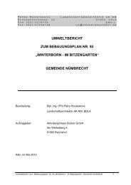 """umweltbericht zum bebauungsplan nr. 92 """"winterborn - im ..."""