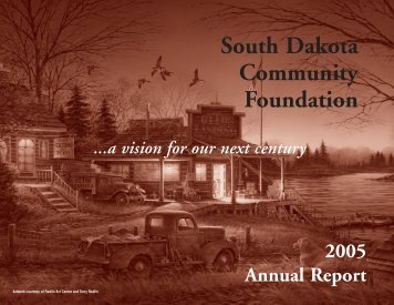 2005 Annual Report - South Dakota Community Foundation