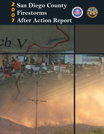 San Diego County Firestorms 2007 After Action Report