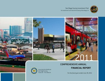 Comprehensive Annual Financial Report - County of San Diego ...