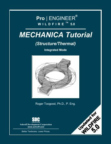 5.0 MECHANICA Tutorial - SDC Publications