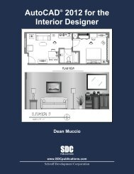 978-1-58503-636-3 -- AutoCAD 2012 for the ... - SDC Publications