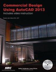 Commercial Design Using AutoCAD 2013 - SDC Publications