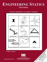 978-1-58503-530-4 -- Engineering Statics [3rd ... - SDC Publications