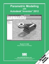 Parametric Modeling with Autodesk Inventor - SDC Publications
