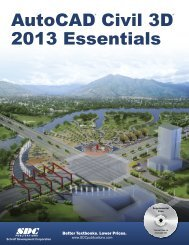 978-1-58503-723-0 -- AutoCAD Civil 3D 2013 ... - SDC Publications