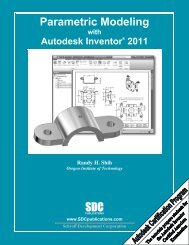 978-1-58503-558-8 -- Parametric Modeling with ... - SDC Publications