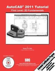 978-1-58503-552-6 -- AutoCAD 2011 Tutorial ... - SDC Publications