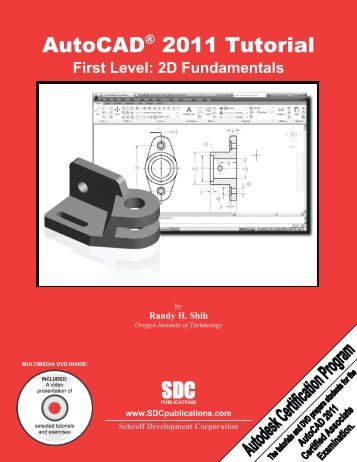978-1-58503-552-6 -- AutoCAD 2011 Tutorial ... - SDC Publications