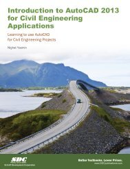 Introduction to AutoCAD for Civil Engineering ... - SDC Publications