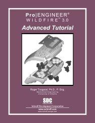 Pro/ENGINEER Advanced Tutorial - SDC Publications