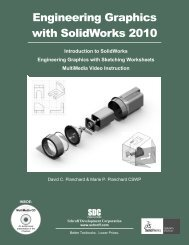 Engineering Graphics with SolidWorks 2010 - SDC Publications