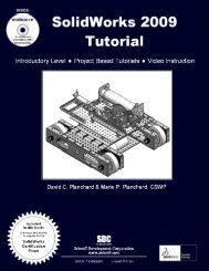 978-1-58503-494-9 -- SolidWorks 2009 Tutorial - SDC Publications