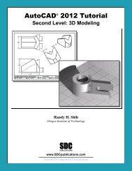 978-1-58503-640-0 -- AutoCAD 2012 Tutorial ... - SDC Publications