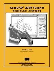 AutoCAD® 2008 Tutorial - SDC Publications