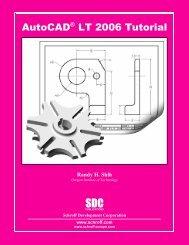 158503245X - AutoCAD LT 2006 Tutorial - SDC Publications