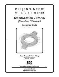 MECHANICA Tutorial - SDC Publications