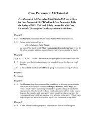 Creo Parametric 2.0 Tutorial - SDC Publications