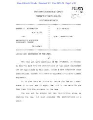 Case 4:08-cv-04105-JBJ Document 101 Filed 09/01/10 Page 1 of 31