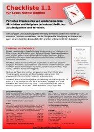 Checkliste 1.pub - SD DataTec