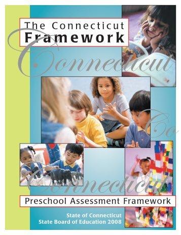 Preschool Assessment Framework - Connecticut State Department ...