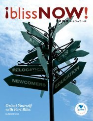 Orient Yourself with Fort Bliss - Fort Bliss MWR