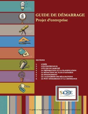 Guide de démarrage | version complète - SDE région de Thetford