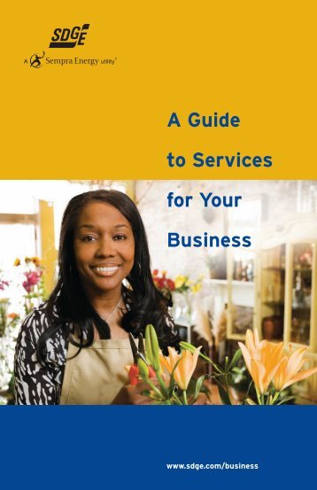 A Guide to Services for Your Business - San Diego Gas & Electric