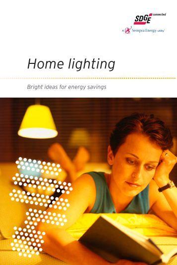 Home lighting - San Diego Gas & Electric
