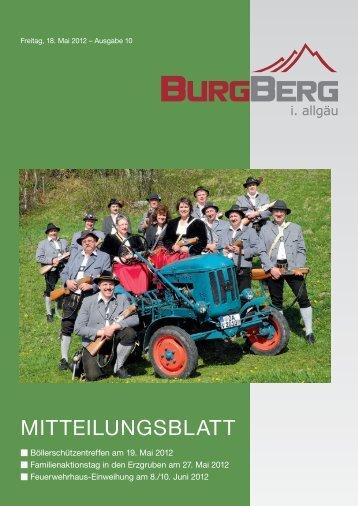 erhalten Sie einen einmaligen Rabatt von € 2 - Burgberg