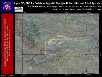Super GIS/GDB for Collaborating with Multiple Universities and ...