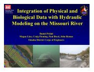 Integration of Physical and Biological Data with Hydraulic Modeling ...
