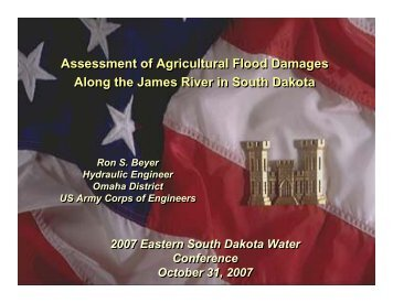 Assessment of Agricultural Flood Damages Along the James River ...