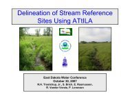Delineation of Stream Reference Sites Using ATtILA