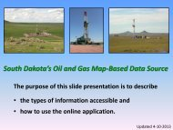View a Tutorial of the Map-Based Data Source - South Dakota ...